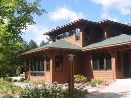 craftsman style house bradley wheeler architect traverse city