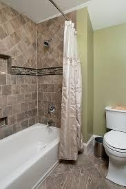 bathroom tub surround tile ideas tiled bathtub area with decorative tile on walls and floor ideas