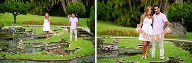 Bermuda Botanical Gardens Rui Garden Engagement Session Howarth Photography