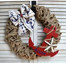 25 unique nautical wreath ideas on anchor wreath
