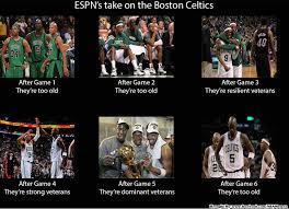 Celtics Memes - boston celtics too old or just experienced meme sportige
