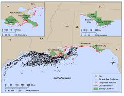 Map Of Gulf Coast Gulf Coast Residents Say Bp Oil Spill Changed Their Environmental