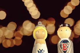 Baseball Wedding Ring by Lovers Wedding Cake Topper With Engagement Ring