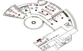 cuisine dwg cuisine restaurant architecture layout plan details dwg file