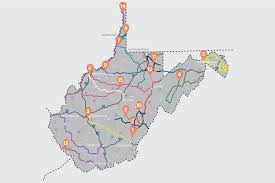 Virginia Map With Cities And Towns by Best Scenic Drives In Wv Wild Wonderful West Virginia