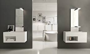 bathroom vanity ideas for small spaces white ceramic free standing