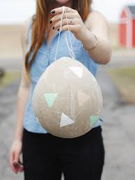 easter egg pinata kraft paper easter egg piñata the merrythought