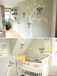 stickers chambre bébé mixte stickers koala pour la chambre de nos bébés le chambre