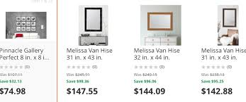 home depot black friday 2016 screen shot home depot up to 40 off select mirrors and gallery picture frame