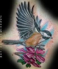 Flower And Bird Tattoo - nightingale and rose tattoo google search tattoos pinterest