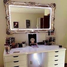 Small Vanity Lights 17 Diy Vanity Mirror Ideas To Make Your Room More Beautiful
