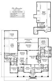 french country house plans modern 4 bedroom floor with a porch