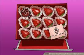 Where To Buy Chocolate Strawberries How To Ship Chocolate Covered Strawberries 12 Steps