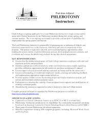 resume phlebotomy resume striking resume sample phlebotomist no