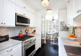 2x4 Subway Tile Backsplash by Contemporary Kitchen In New York Ny Zillow Digs Zillow