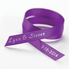favor ribbons printed wedding ribbons for wedding favors personalized satin