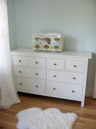 Ikea Hemnes Changing Table Nursery Changing Table Dresser Becoming Tips And