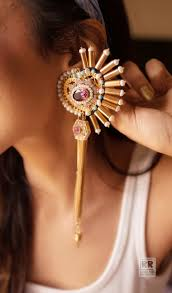 outhouse earrings my affair with jewellery the bandra girl