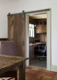 barn door for laundry room kitchen traditional with room divider