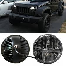 led lights for jeep wrangler jk aliexpress com buy 7 inch led headlight conversion kits with