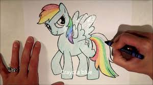 my little pony rainbow dash coloring page crayola cutie mark