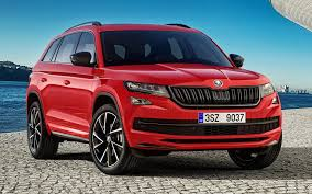 skoda kodiaq 2017 skoda kodiaq sportline 2017 wallpapers and hd images car pixel