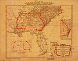 Map East Coast Florida by Florida Map 1776