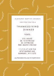 ebc thanksgiving dinner elmhurst baptist church