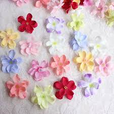 where can i buy petals 5cm fabric roses petal artificial small silk hydrangea heads