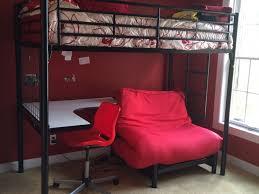 Loft Bed With Futon And Desk Marvelous Loft Bed With Futon And Desk Loft Bed With Futon And