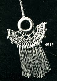 crochet necklace pattern images Crocheted necklace pattern archives vintage crafts and more jpg