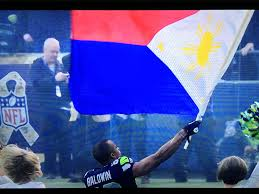 Phippines Flag Support The Philippine Typhoon Relief Seahawks U0027 Doug Baldwin