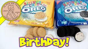 oreo birthday cake chocolate u0026 vanilla cookie sandwiches with silk
