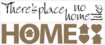 wallhogs there s no place like home quote wall decal reviews default name