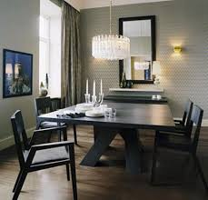 dining room entrancing modern minimalist dining room with round