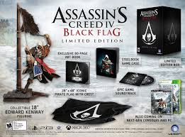Assassins Black Flag Amazon Com Assassin U0027s Creed Iv Black Flag Limited Edition