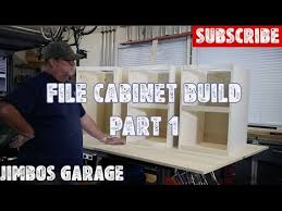 Wood File Cabinet Wood File Cabinet Build Part 1 Youtube