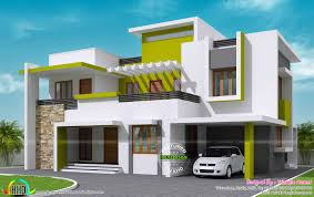 Traditional Two Story House Plans 232 Sq M Contemporary House Kerala Home Design And Floor Plans
