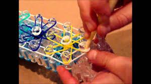make rubber bracelet images How to make a starburst rubber band bracelet on a rainbow loom jpg