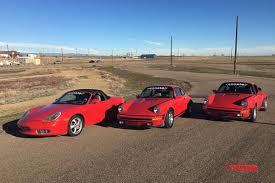 porsche boxster vs 911 porsche 930 turbo vs 911 sc vs boxster vs 996 mashup drag race