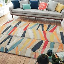 Modern Wool Rugs Uk 150 Best Abstract Rugs Images On Pinterest Color Mix