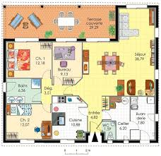 plan maison 4 chambres plan maison 4 chambres etage top maison etage chambres m with plan