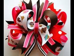 how to make girl bows how to make a stacked boutique hair bow tutorial