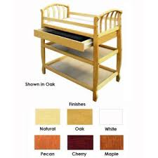 Pecan Changing Table Baby Changing Table