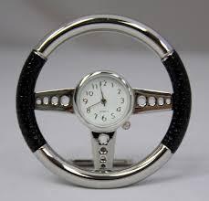 steering wheel clock novelty desk clock gift idea