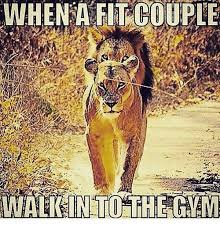 Fit Couple Meme - when a fit couple walk in to the gam meme on sizzle
