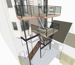 Cantilevered Deck by Client Workspace U2014 Sazen Design
