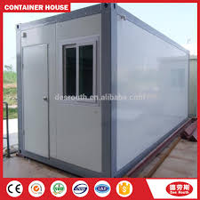 prefabricated light steel container houses of flat roof buy