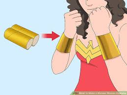 Wonder Woman Accessories How To Make A Wonder Woman Costume With Pictures Wikihow