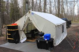wall tent traditional pole system davis tent